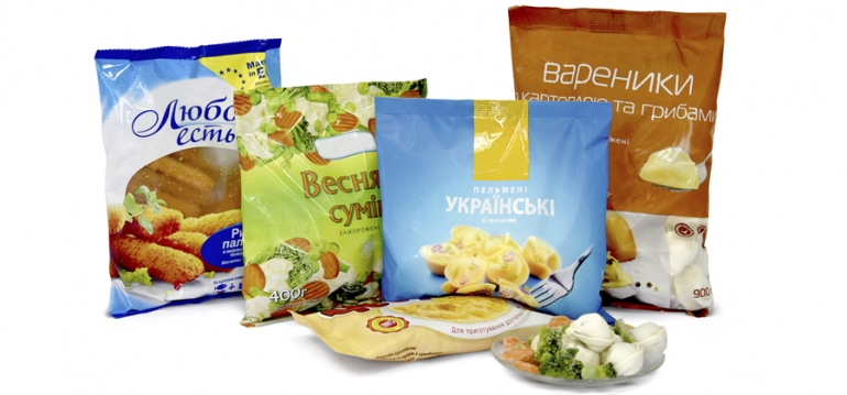 Packaging for frozen food