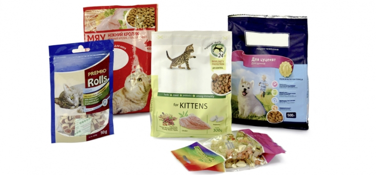 Packaging for products of animal