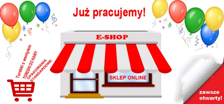 E-shop of packaging