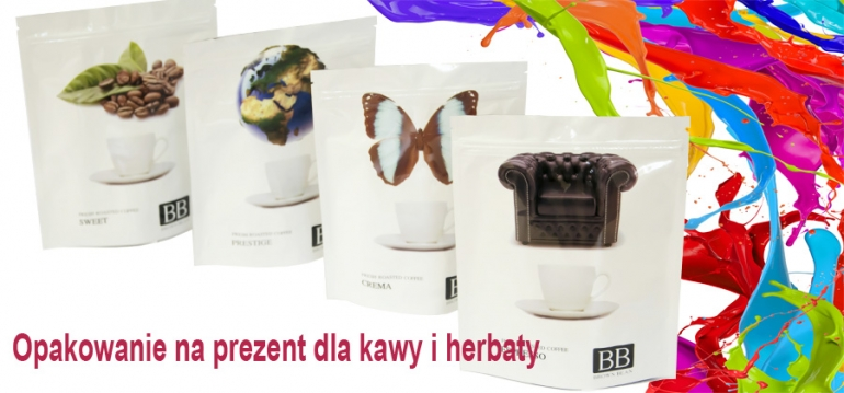 Gift packaging for coffee and tea